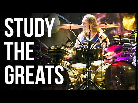 Danny Carey Rosetta Stoned Snare Roll  STUDY THE GREATS