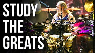 Danny Carey Rosetta Stoned Snare Roll | STUDY THE GREATS
