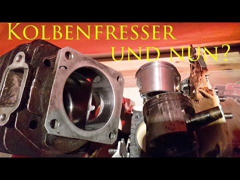 Stihl Zylinder retten -- honen nach Kolbenfresser