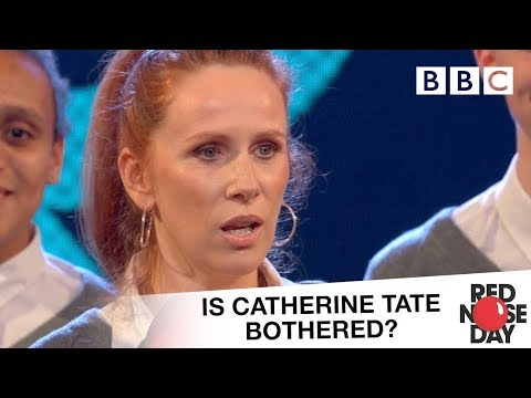 Is Catherine Tate bothered about Red Nose Day?  Comic Relief 2017: Red Nose Day