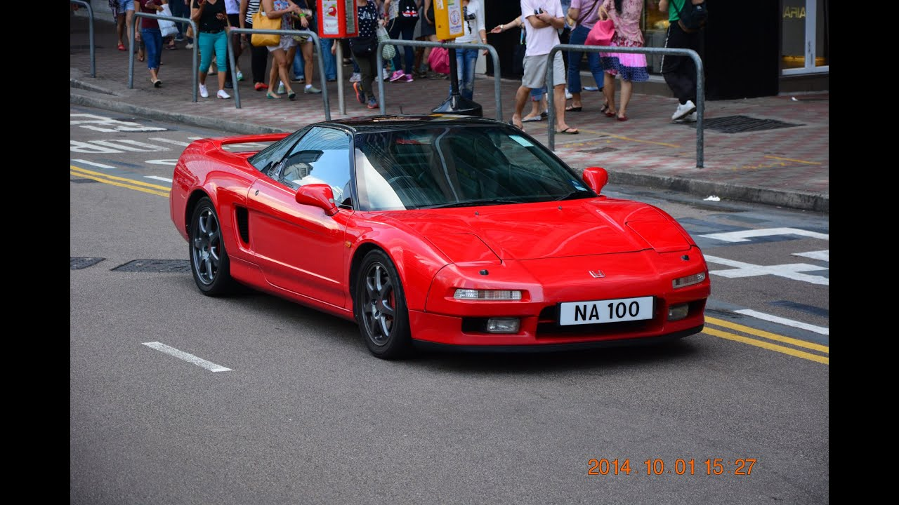 Insane honda nsx acceleration exhaust sound in the world honda nsx engine sound youtube