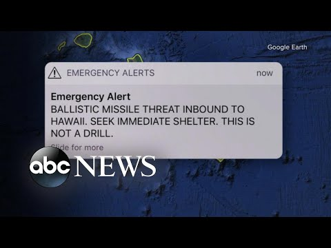 Who is the worker behind false missile alert in Hawaii?