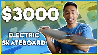 Unboxing A $3000 Electric Skateboard - Mellow Boards