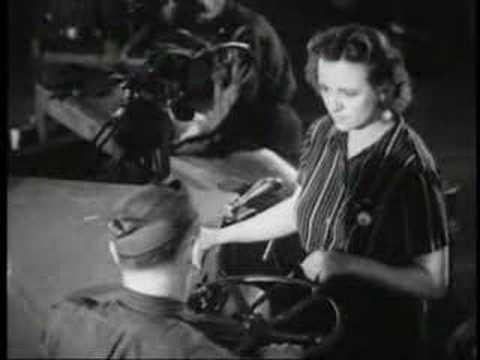 Curtiss Wright Aeronautical Recruitment Film, 1944