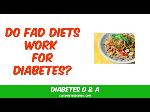 Do Fad Diets Work For Diabetes?