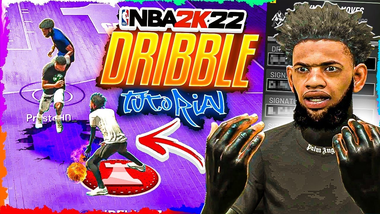 NBA 2k22 - Advanced Dribble Tutorial/ Learn All The Best COMP Combos To Create Space !!!