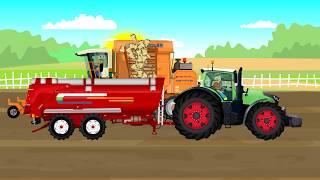 Auto Transport Truck | Tow Truck and Car Factory - For KIDS | Samochód Laweta - Rysowanie