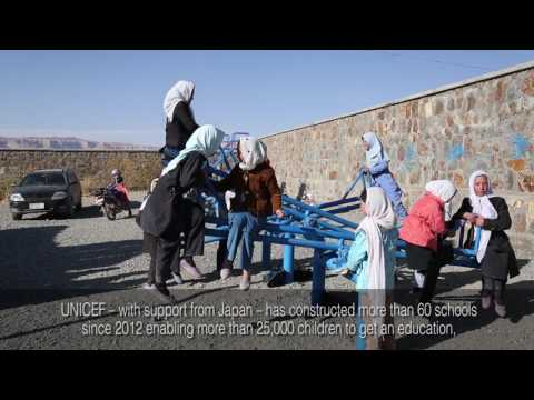 UNICEF and Japan: Making a difference for Afghanistan's children