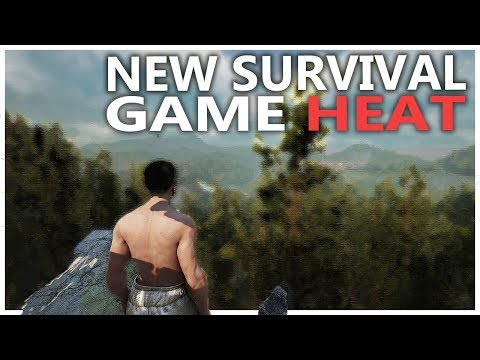 BECOMING A DAD, BUILDING A BASE - NEW SURVIVAL GAME | HEAT GAMEPLAY
