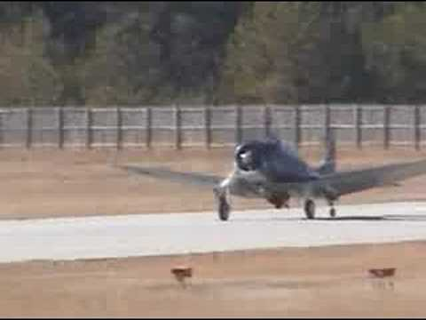 Douglas Dauntless SBD Dive Bomber Takeoff