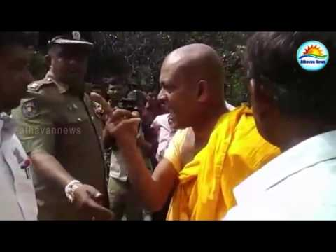 Profanity words for Tamils, Sinhalese and Muslims is the correct words : Sumanarathne thero said