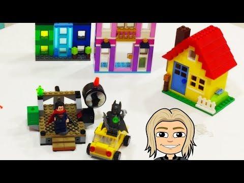 Lego Batman VS Superman Clash of Heroes - Superheroes kids videos
