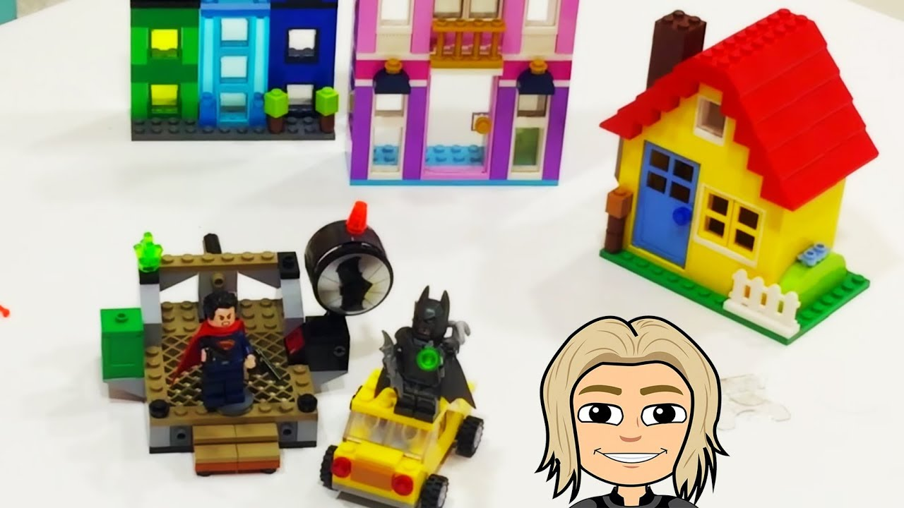 Gertit Builds Lego Brics with Super Heroes - Batman Challenge with Gertit Toys Review