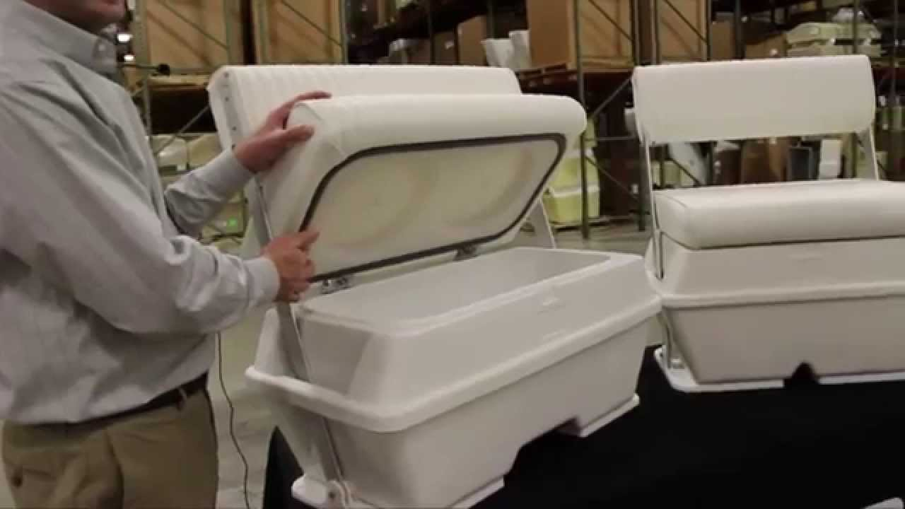 Moeller Swingback Coolers Video Jan2015 Iboats Com Youtube