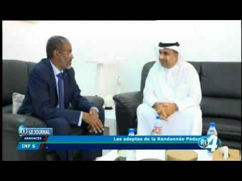 Télé Djibouti Chaine Youtube : JT Arabe du 18/11/2017