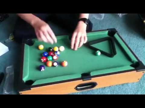 Incroyable Mini Pool Table Unboxing