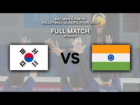 Download KOR vs. IND - Full Match | AVC Men's Tokyo Volleyball Qualification 2020