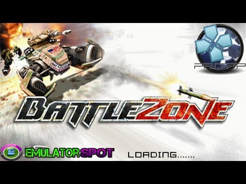 Battlezone - Sony PlayStation PSP Gameplay HD 1080p (PPSSPP)
