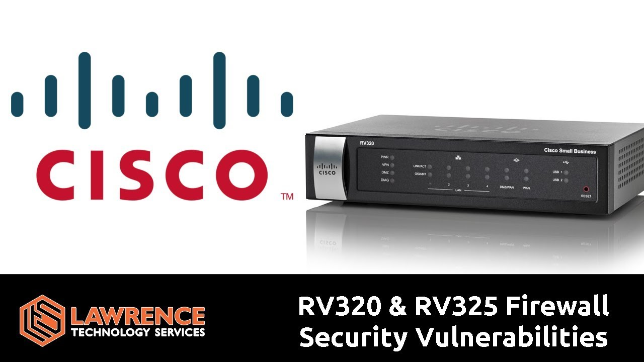 Cisco RV320 & RV325 Firewall Security Vulnerabilities CVE-2019-1653 &  CVE-2019-165
