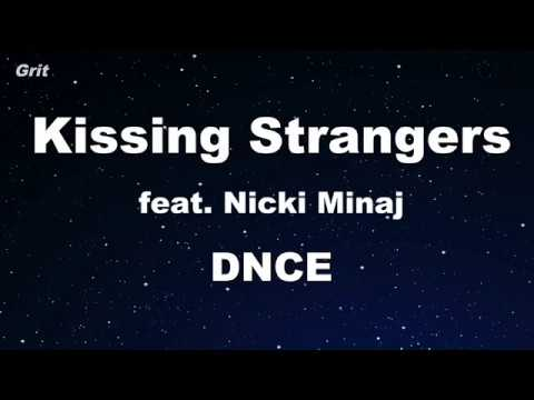 Kissing Strangers ft. Nicki Minaj - DNCE Karaoke 【No Guide Melody】 Instrumental