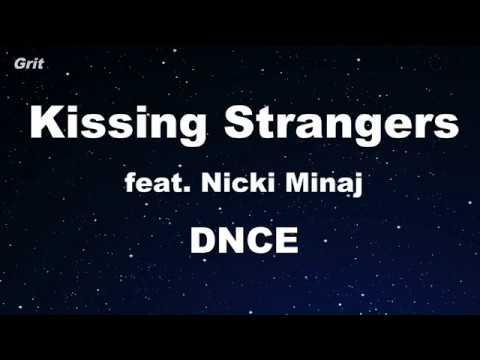 Kissing Strangers ft. Nicki Minaj - DNCE Karaoke 【No Guide Melody】 Instrumental