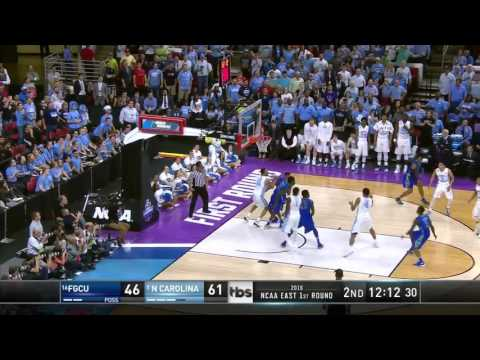 UNC vs. FGCU: Isaiah Hicks dunk
