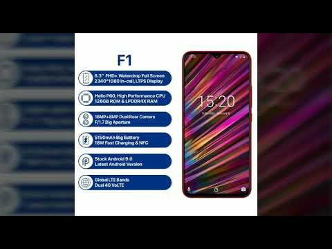 Umidigi F1 Handphone Spek Tinggi Lengkap Nfc Daya Besar Dll Youtube