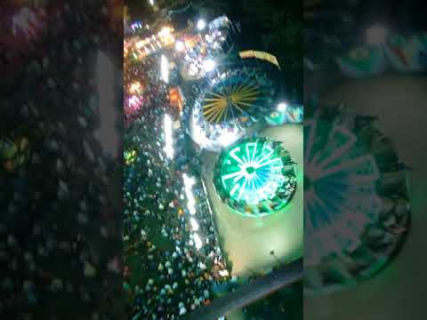 View from the top of Giant wheel