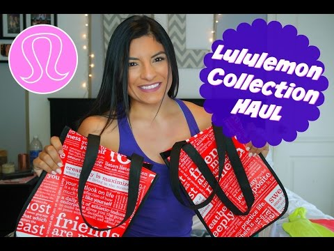 Lululemon Collection Haul