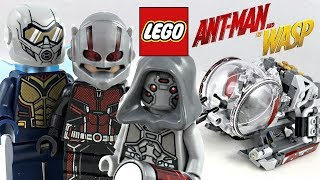 LEGO Ant-Man and the Wasp Quantum Realm Explorers review! 2018 set 76109!