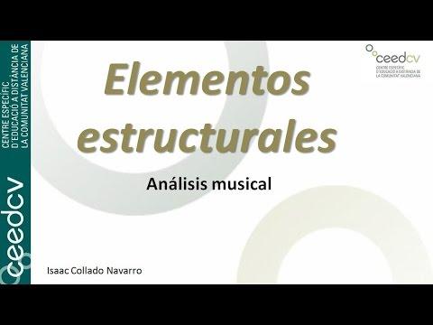 Elementos estructurales: La frase musical