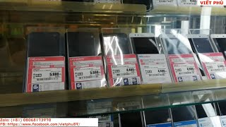 Quán điện thoại, máy tính bảng cũ tại Nhật/ Viết Phú JP
