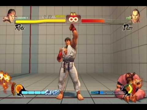 Street Fighter IV: Ryu Desafío - Prueba difícil / Challenge - Difficult trial (HQ)