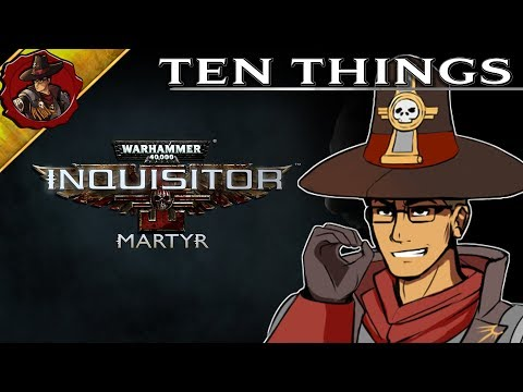 W40k - Inquisitor Martyr - Things you Might not know