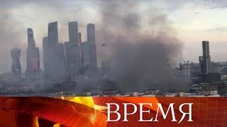 На севере Москвы ликвидирован крупный пожар.
