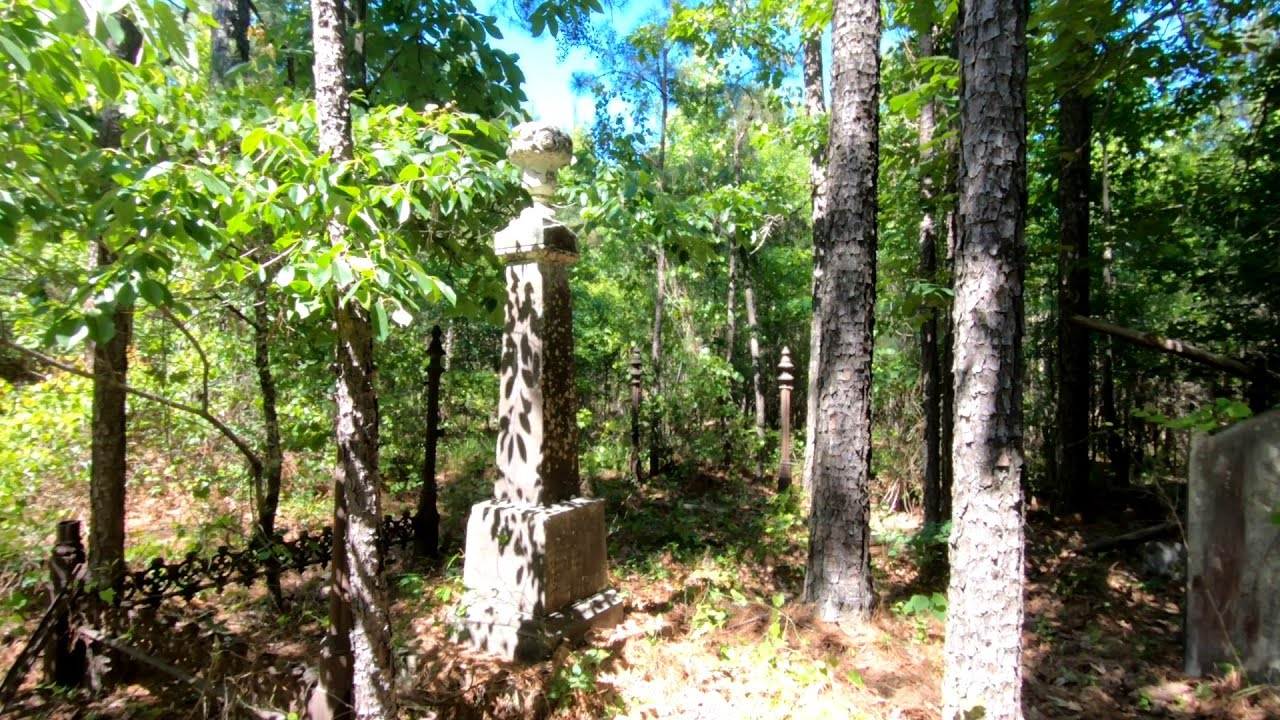 176 Year Old Plantation and Slave Cemetery