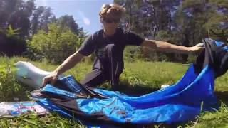 "Cocon ""Bird of Paradise"". Ultra light paragliding harness review. (RUS)"