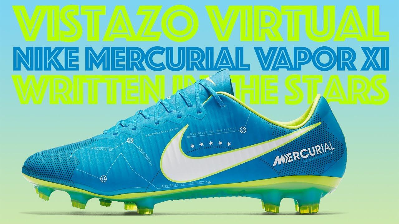 Un vistazo virtual a los Nike Mercurial Vapor XI Neymar Written in the Stars