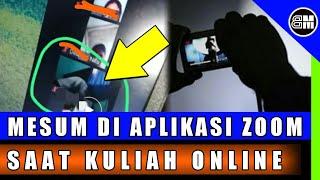 Viral Video Mahasiswa Lupa Mematikan Aplikasi Zoom Pada Saat Kuliah Online/mahasiswa Mesum