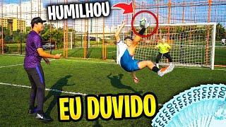METEU GOLAÇO DE BIKE! - EU DUVIDO #33