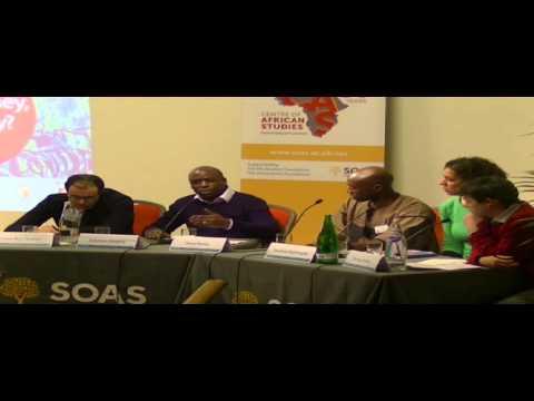 Media Representation and Africa: whose money, whose story? Panel 3, SOAS, University of London