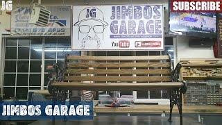 Metal Bench Restore - Jimbos Garage