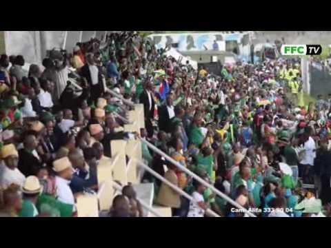 Comores 2 - Maurice 0 Stade de Mitsamiouli 24/03/2017  Extrait