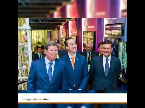 Singapore Celebrates National Day at Astana Expo 2017