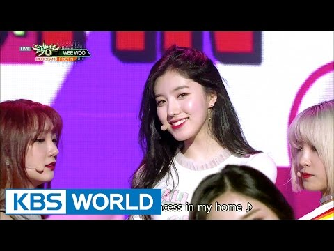 PRISTIN (프리스틴) - WEE WOO [Music Bank / 2017.04.21]