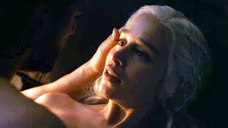 Emilia Clarke and Kit Harington React on Their Love Scene (GOT Behind The Scenes) Jon / Dany Romance thumbnail