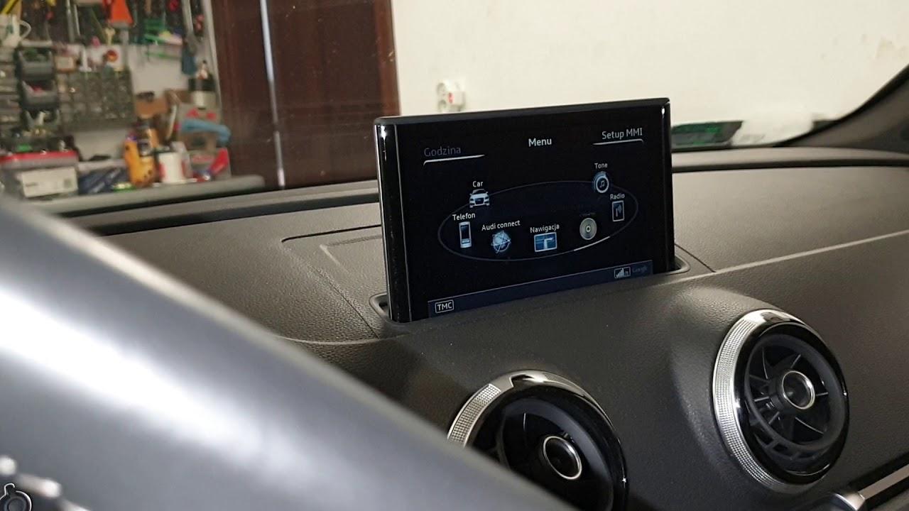 AUDI A3 8V 2011 Audio System X200EM Evo upgrade - YouTube
