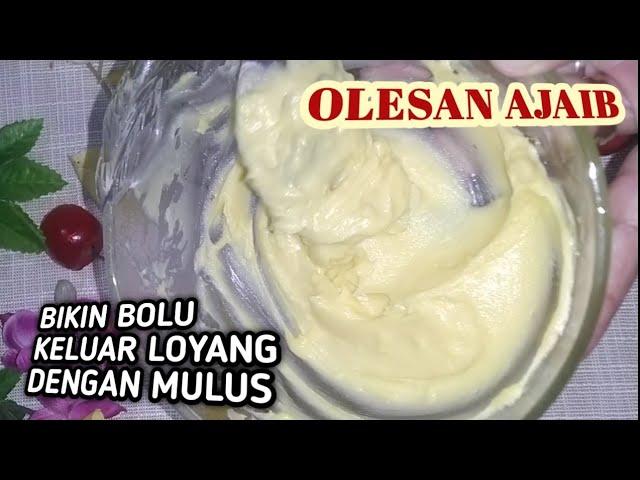 Cara Membuat Olesan Anti Lengket Pada Loyang Carlo Homemade Carlo Youtube