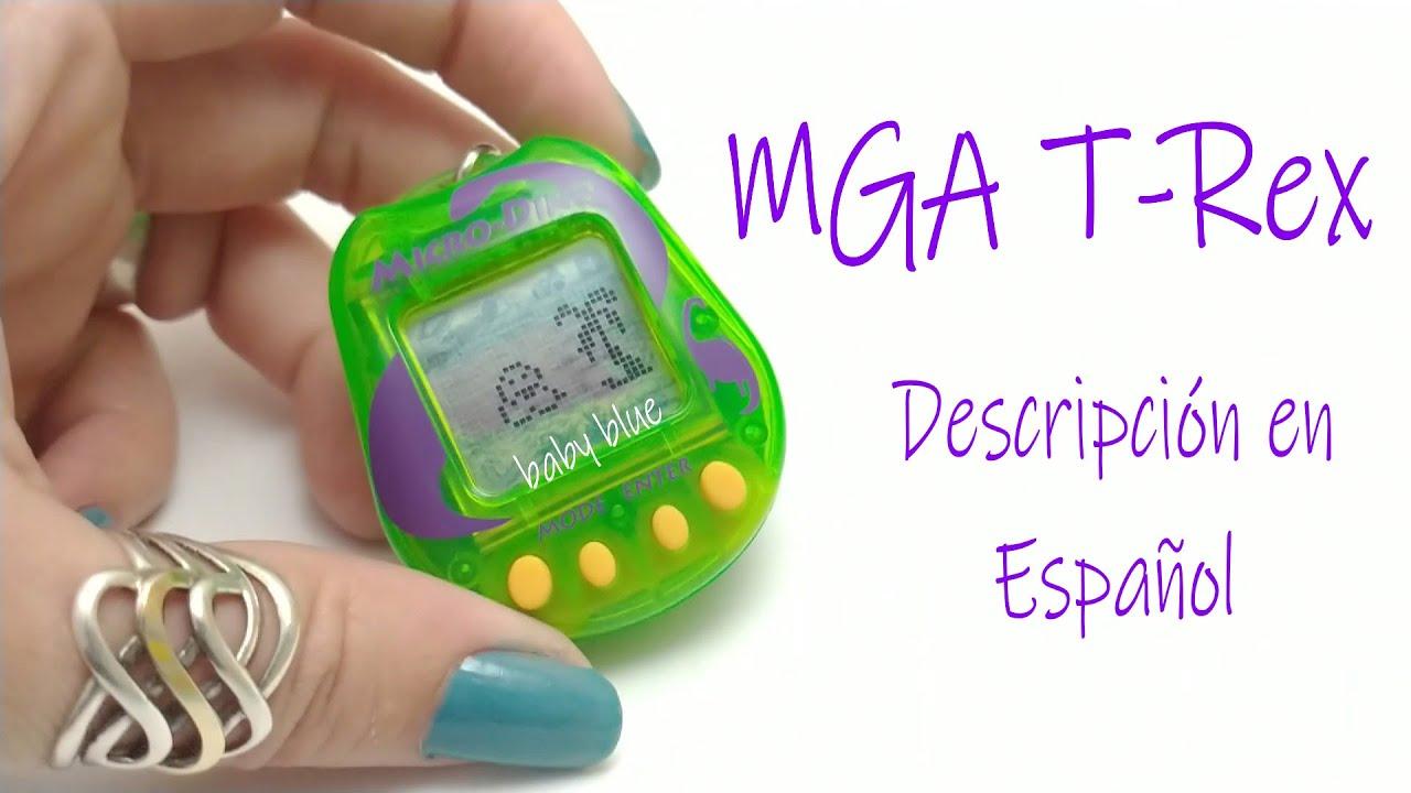"""MGA T-Rex (""""Micro-Dino""""- Radioshack) [Descripción]"""