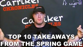 Ten Takeaways from the Husker Spring Game | Carriker Chronicles 2017.04.17